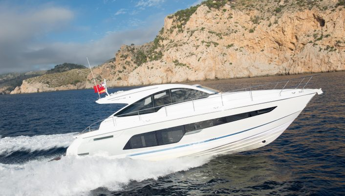 Targa 48 OPEN Exterior 26 (2018 Model Year)