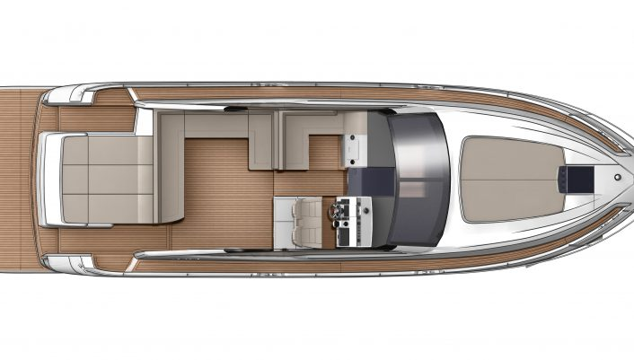Targa 48 OPEN Main Deck GA