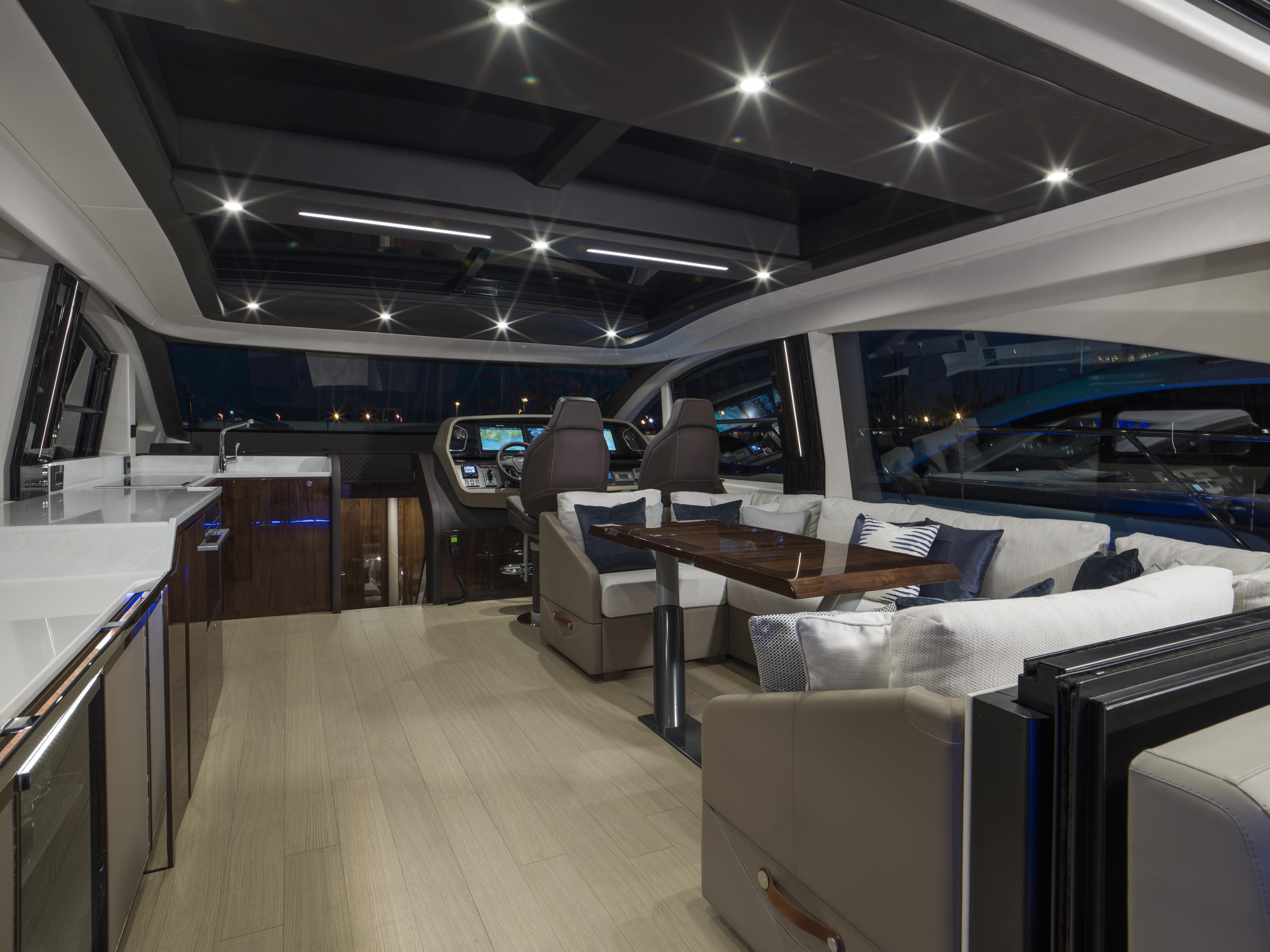 Targa 63 GTO Interior Saloon