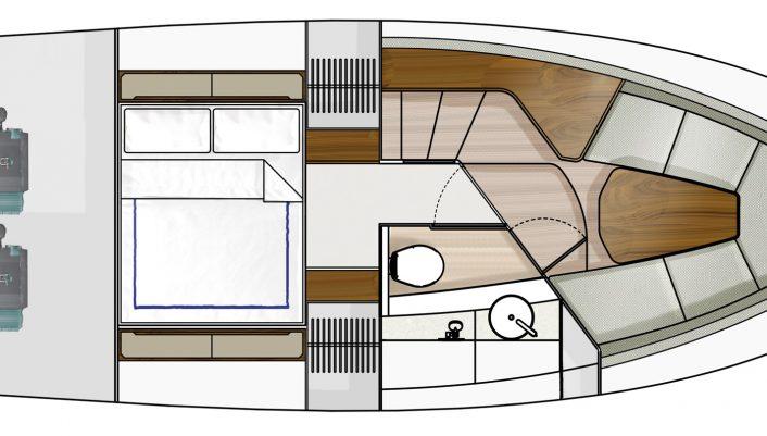 F-Line 33 Lower Deck GA